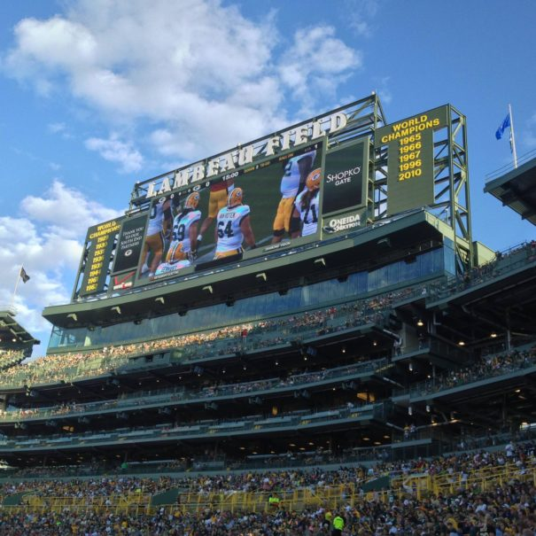 Lambeau Field expansion